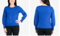 NY Collection Petite Balloon-Sleeve Sweater