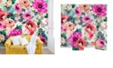 Deny Designs Marta Barragan Camarasa Abstract Geometrical Flowers 12'x8' Wall Mural