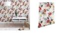 Deny Designs Holli Zollinger Poppy Wild 2'x4' Wallpaper