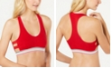 Tommy Hilfiger Women's Strappy Side V-Neck Bralette R70T059