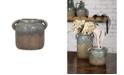 IMAX Bardot Small Blue Stone Ceramic Vase