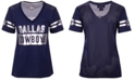 Authentic NFL Apparel Women's Dallas Cowboys Mesh Back Jersey