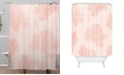 Deny Designs Iveta Abolina Beach Day Pink Shower Curtain