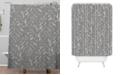 Deny Designs Iveta Abolina Study in Gray X Shower Curtain