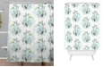 Deny Designs Iveta Abolina Seaflower Shower Curtain