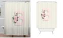 Deny Designs Iveta Abolina Pivoine B Shower Curtain