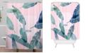 Deny Designs Iveta Abolina Peaches N Cream L Shower Curtain