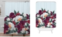 Deny Designs Iveta Abolina English Rose Shower Curtain