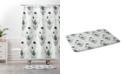 Deny Designs Iveta Abolina Study in Gray IV Bath Mat