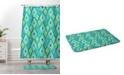 Deny Designs Iveta Abolina Flower Power II Bath Mat