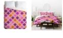 Deny Designs Holli Zollinger Four Dot Multi King Duvet Set
