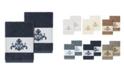 Linum Home Scarlet 2-Pc. Embellished Washcloth Set