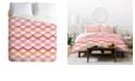 Deny Designs Heather Dutton Intersection Bright King Duvet Set