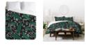 Deny Designs Holli Zollinger Orinoco Midnight King Duvet Set