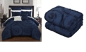 Chic Home Rosalia 7-Pc Queen Comforter Set