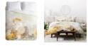 Deny Designs Iveta Abolina White Velvet Twin Duvet Set