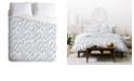 Deny Designs Iveta Abolina Grey Dove Twin Duvet Set