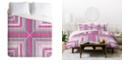 Deny Designs Iveta Abolina Electric Fields Twin Duvet Set