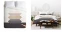 Deny Designs Iveta Abolina Bloc de couleur III Twin Duvet Set