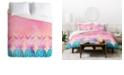Deny Designs Iveta Abolina Pineapple Farm Queen Duvet Set
