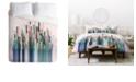 Deny Designs Iveta Abolina Cacti Stripe Pastel Twin Duvet Set