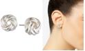 Lauren Ralph Lauren Knot Stud Earrings