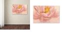 "Trademark Global Cora Niele 'Pink Peony' Canvas Art, 30"" x 47"""
