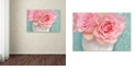 "Trademark Global Cora Niele 'Pink Rose Bouquet' Canvas Art, 22"" x 32"""
