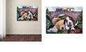 "Trademark Global Jenny Newland 'Choo, Choo, Chooed Out' Canvas Art, 35"" x 47"""