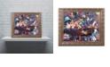 "Trademark Global Jenny Newland 'While Kittens Are Away' Ornate Framed Art, 16"" x 20"""