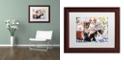 "Trademark Global Jenny Newland 'Fun Size' Matted Framed Art, 11"" x 14"""