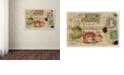 "Trademark Global Nick Bantock 'Cabbagetail' Canvas Art, 12"" x 19"""