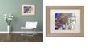 "Trademark Global Nick Bantock 'Petros' Matted Framed Art, 11"" x 14"""