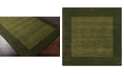 Surya Mystique M-315 Green 6' Square Area Rug