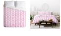Deny Designs Holli Zollinger Tribal Pink Queen Duvet Set