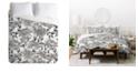 Deny Designs Holli Zollinger Summertime Natural Queen Duvet Set