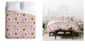 Deny Designs Holli Zollinger Suzani Pink King Duvet Set