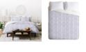 Deny Designs Holli Zollinger French Linen Loop Queen Duvet Set