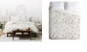 Deny Designs Holli Zollinger French Linen Anemone Light Twin Duvet Set