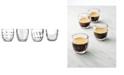 La Rochere La Rochere Assorted, 3.2 oz Espresso Cups, Set of 4