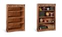 """Sunny Designs Sedona 48""""H Rustic Oak Bookcase"""
