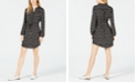 Maison Jules Long-Sleeved Shirt Dress, Created for Macy's