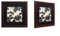 "Trademark Global Color Bakery 'Stylesque Iii' Matted Framed Art, 16"" x 16"""