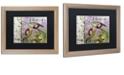 "Trademark Global Color Bakery 'Olivia Iii' Matted Framed Art, 16"" x 20"""