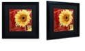 "Trademark Global Color Bakery 'Ete Iii' Matted Framed Art, 16"" x 16"""