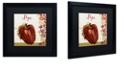 "Trademark Global Color Bakery 'Cucina Italiana Vii' Matted Framed Art, 16"" x 16"""