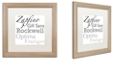 """Trademark Global Color Bakery 'Just My Type I' Matted Framed Art, 16"""" x 16"""""""
