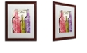 "Trademark Global Color Bakery 'Wine Tasting Ii' Matted Framed Art, 16"" x 20"""