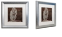 "Trademark Global Color Bakery 'Monkey' Matted Framed Art, 16"" x 16"""