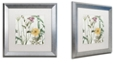 "Trademark Global Color Bakery 'Softly I' Matted Framed Art, 16"" x 16"""
